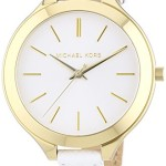 Michael Kors Gold Two-Tone Slim Runway Women's Watch